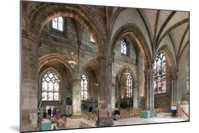 Interior Looking Northeast, St. Giles' Cathedral, Edinburgh, Scotland, United Kingdom-Nick Servian-Mounted Photographic Print