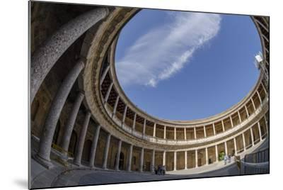Palace of Charles V, Alhambra, Granada, Province of Granada, Andalusia, Spain-Michael Snell-Mounted Photographic Print