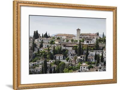 Granada, Province of Granada, Andalusia, Spain-Michael Snell-Framed Photographic Print