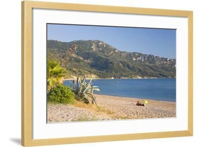 View across the Bay to Wooded Hillside-Ruth Tomlinson-Framed Photographic Print