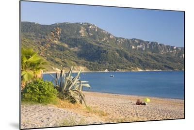 View across the Bay to Wooded Hillside-Ruth Tomlinson-Mounted Photographic Print