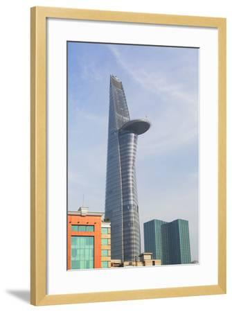 Bitexco Financial Tower, Ho Chi Minh City, Vietnam, Indochina, Southeast Asia, Asia-Ian Trower-Framed Photographic Print