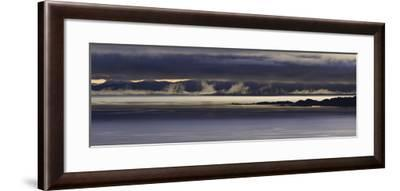 Panoramic View of Dawn Breaking across the Sound of Raasay and the Isle of Rona-John Woodworth-Framed Photographic Print