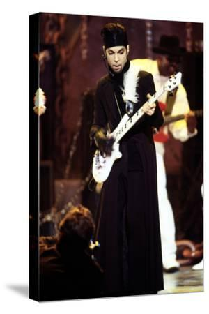 American Singer Prince (Prince Rogers Nelson) on Stage at the Naacp Image Awards 1999--Stretched Canvas Print