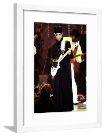 American Singer Prince (Prince Rogers Nelson) on Stage at the Naacp Image Awards 1999--Framed Photo