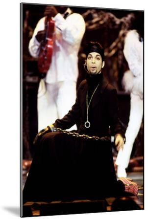 American Singer Prince (Prince Rogers Nelson) on Stage at the Naacp Image Awards 1999--Mounted Photo