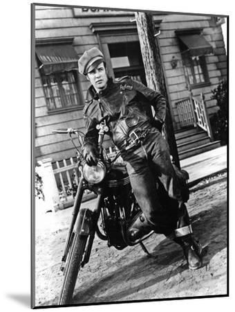 The Wild One, Marlon Brando--Mounted Photo