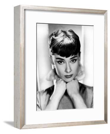 Sabrina, Audrey Hepburn, Directed by Billy Wilder, 1954--Framed Photo