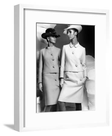 Lanvin Fashion for Autumn-Winter Collection 1966--Framed Photo