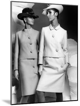 Lanvin Fashion for Autumn-Winter Collection 1966--Mounted Photo