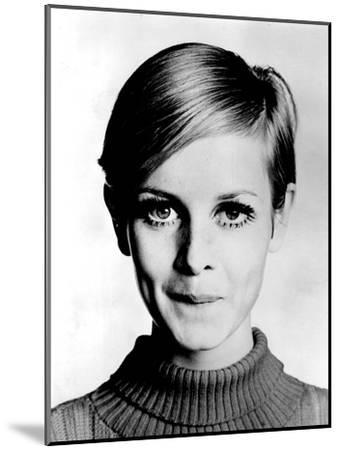 The Model Twiggy in 1967--Mounted Photo