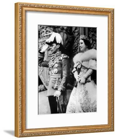 British Royal Family--Framed Photo