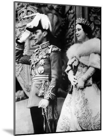 British Royal Family--Mounted Photo
