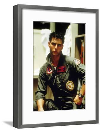 Top Gun De Tony Scott Avec Tom Cruise 1986--Framed Photo