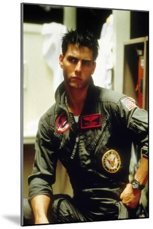 Top Gun De Tony Scott Avec Tom Cruise 1986--Mounted Photo