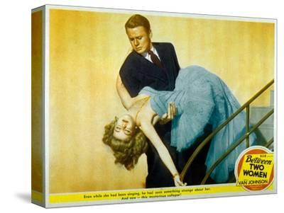 Between Two Women De Willis Goldbeck Avec Van Johnson Et Marilyn Maxwell, 1945--Stretched Canvas Print