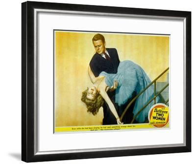 Between Two Women De Willis Goldbeck Avec Van Johnson Et Marilyn Maxwell, 1945--Framed Art Print