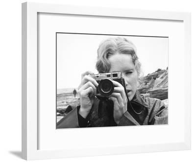 Persona, Ingmar Bergman, Liv Ullmann, 1966--Framed Photo