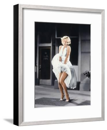 Marilyn Monroe in 'The Seven Year Itch', 1955--Framed Photo