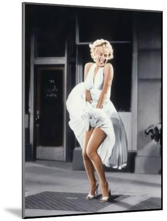 Marilyn Monroe in 'The Seven Year Itch', 1955--Mounted Photo