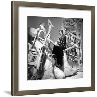 Fashion Show for Television, 26 February 1969, France--Framed Photo