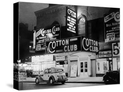 The Cotton Club in Harlem (New York) in 1938--Stretched Canvas Print