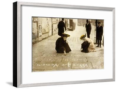 English Suffragettes, 1912--Framed Photo