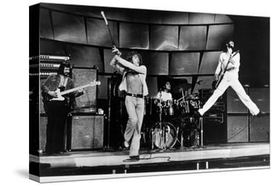 The Who on Stage in 1969--Stretched Canvas Print
