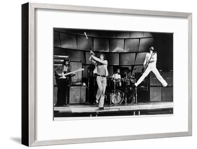 The Who on Stage in 1969--Framed Photo