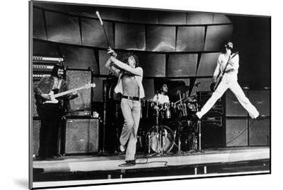 The Who on Stage in 1969--Mounted Photo