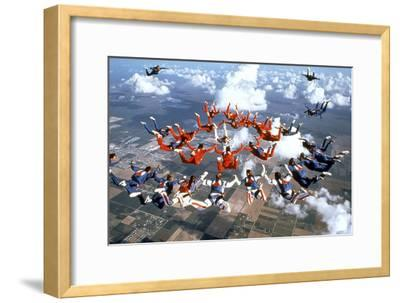 Drop Zone De Johnbadham Avec Wesley Snipes 1994--Framed Photo