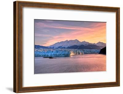 Glacier at Sunrise-Lantern Press-Framed Art Print