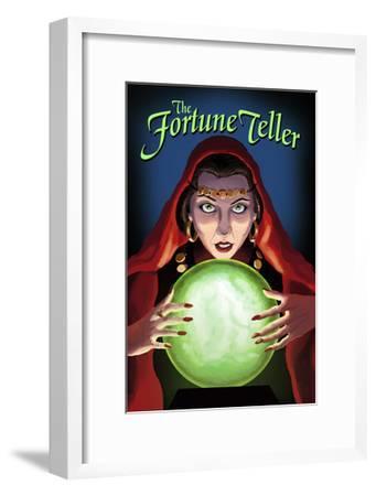 The Fortune Teller-Lantern Press-Framed Art Print