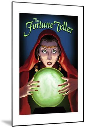 The Fortune Teller-Lantern Press-Mounted Art Print