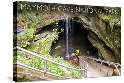 Mammoth Cave, Kentucky - Cave Entrance 1-Lantern Press-Stretched Canvas Print