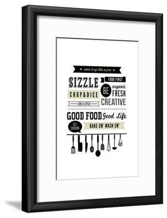 Serve it Up like a Pro-Lantern Press-Framed Art Print