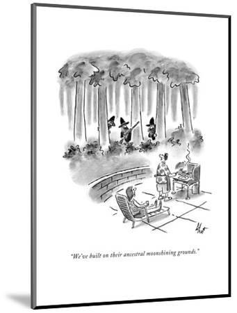 New Yorker Cartoon-Frank Cotham-Mounted Premium Giclee Print