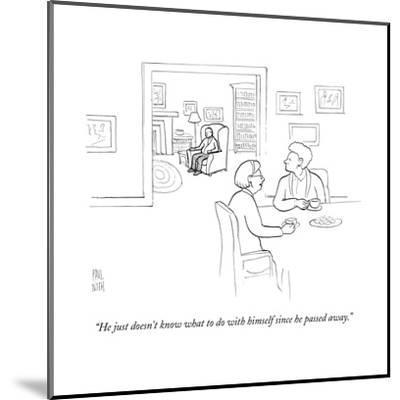 New Yorker Cartoon-Paul Noth-Mounted Premium Giclee Print