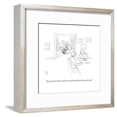 New Yorker Cartoon-Paul Noth-Framed Premium Giclee Print