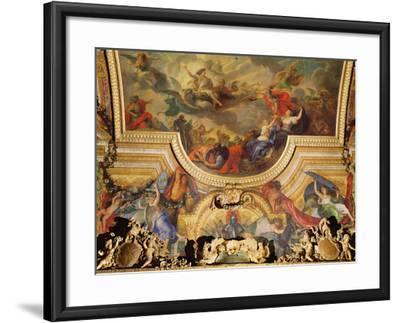 The Capture of the Town and Citadel of Ghent in Six Days in 1678-Charles Le Brun-Framed Photographic Print