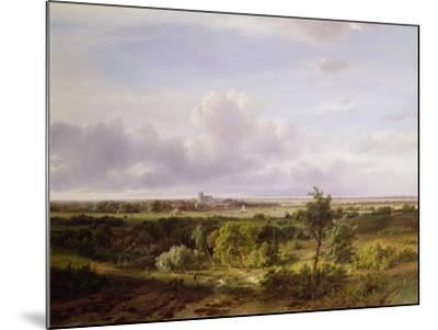 Dutch Landscape, 19th Century-Pieter Lodewijk Francisco Kluyver-Mounted Giclee Print