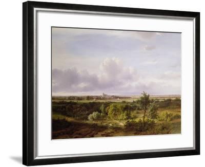 Dutch Landscape, 19th Century-Pieter Lodewijk Francisco Kluyver-Framed Giclee Print