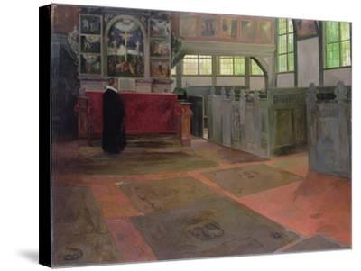 Church Interior, 1641-Anthonie de Lorme-Stretched Canvas Print