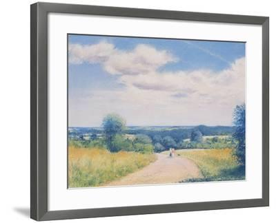 Sunday Stroll, 2003-Anthony Rule-Framed Giclee Print