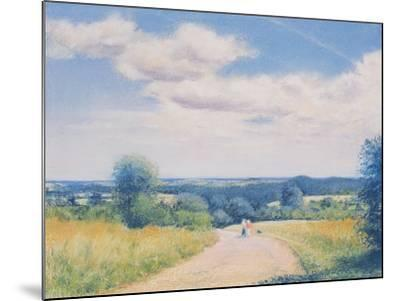 Sunday Stroll, 2003-Anthony Rule-Mounted Giclee Print
