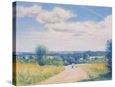 Sunday Stroll, 2003-Anthony Rule-Stretched Canvas Print