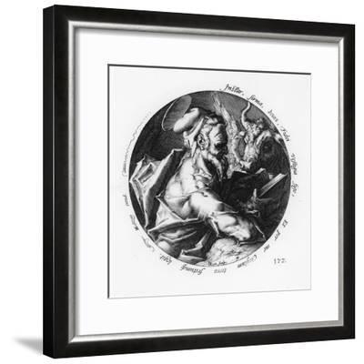 St. Luke-Hendrik Goltzius-Framed Giclee Print