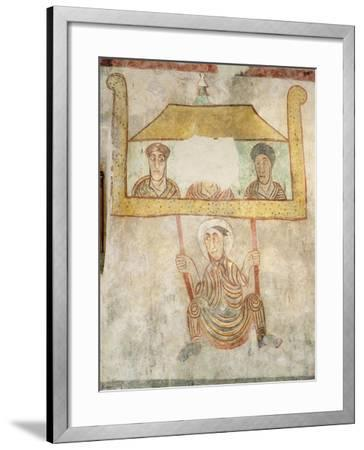 Saint Proculus Escaping from the City of Verona--Framed Giclee Print