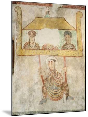 Saint Proculus Escaping from the City of Verona--Mounted Giclee Print