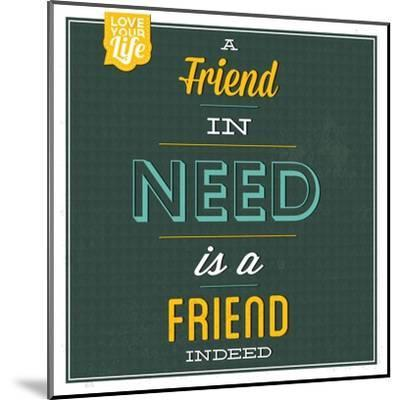 Friend Indeed-Lorand Okos-Mounted Art Print